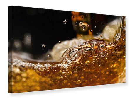 Leinwandbild Cognac