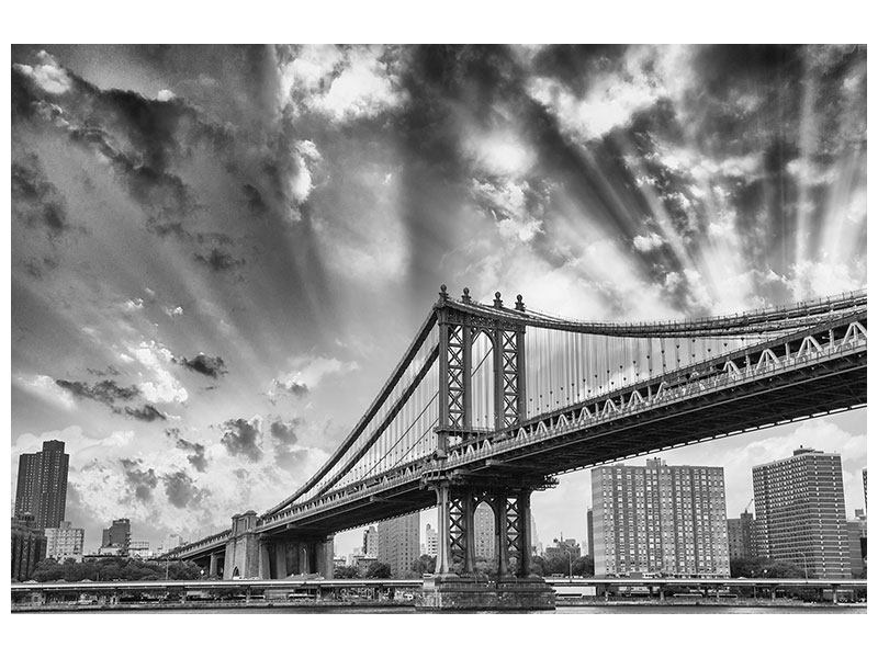 Leinwandbild Manhattan Bridge
