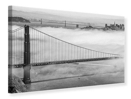 Leinwandbild Golden Gate Brücke