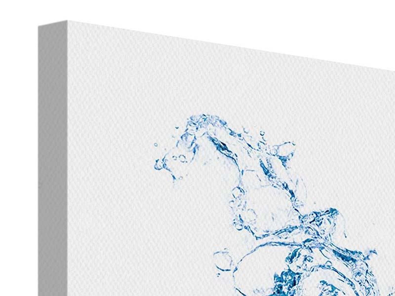 Leinwandbild Waterwall