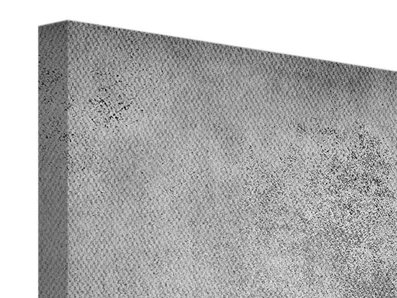 Leinwandbild Graue Wandschattierungen