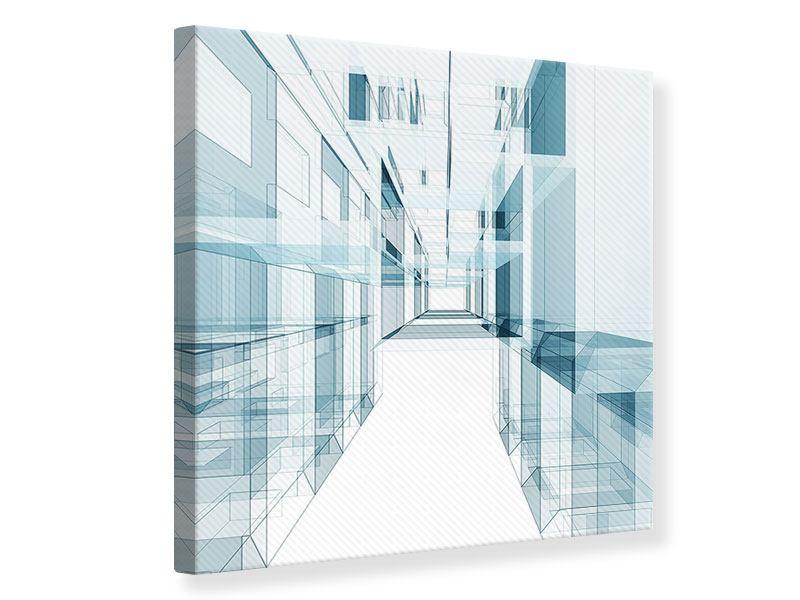 Leinwandbild Raum der Räume