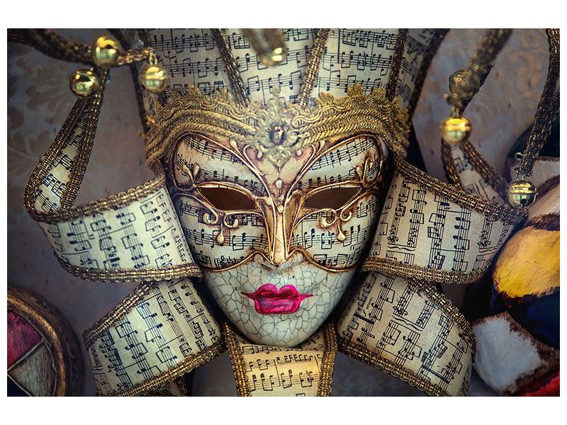Leinwandbild Venezianische Maske