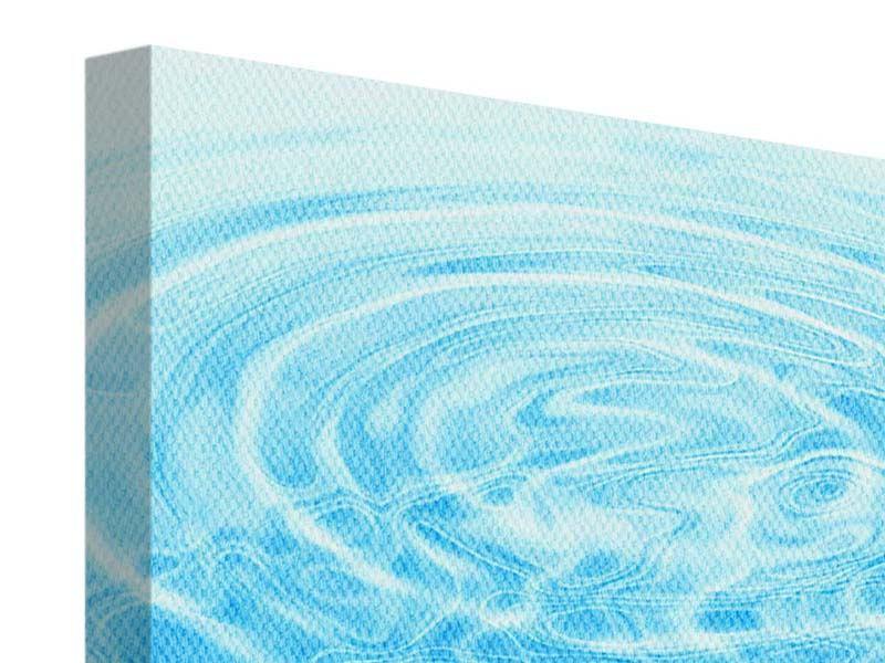 Leinwandbild Abstraktes Wasserbad