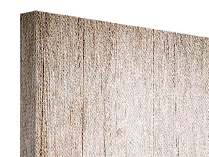 Leinwandbild Rustico Holz