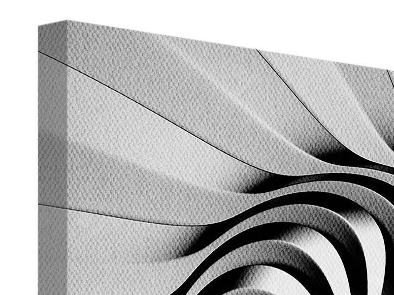 Leinwandbild Abstrakte Spirale