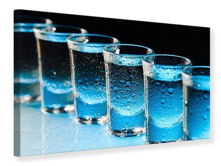 Leinwandbild Wodka Pur