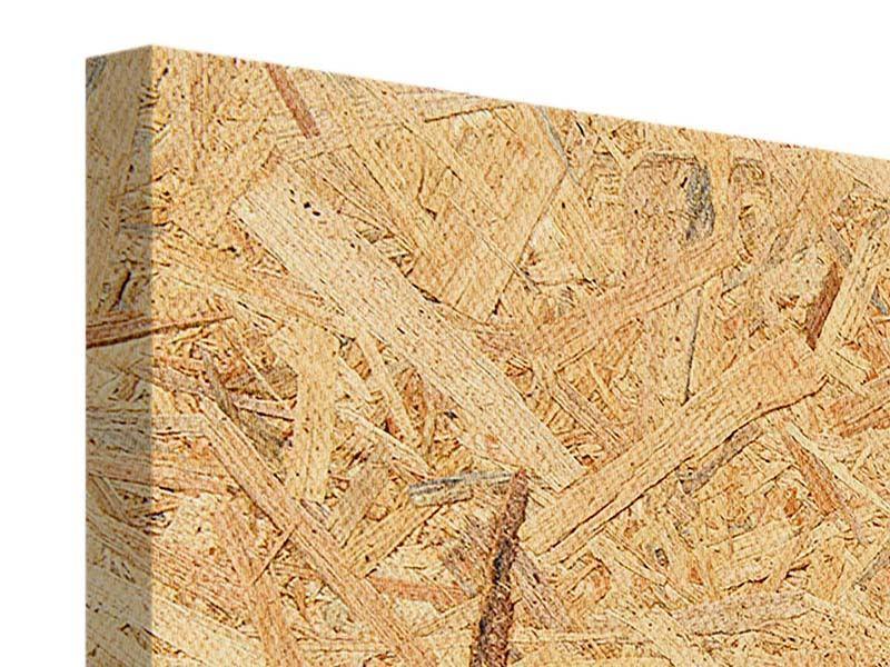 Leinwandbild 5-teilig Gepresstes Holz