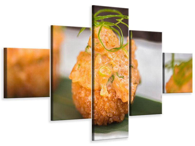 Leinwandbild 5-teilig Asiatische Küche
