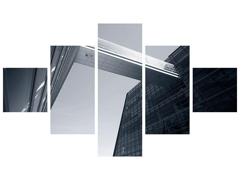 Leinwandbild 5-teilig Der schwarze Diamant Kopenhagens