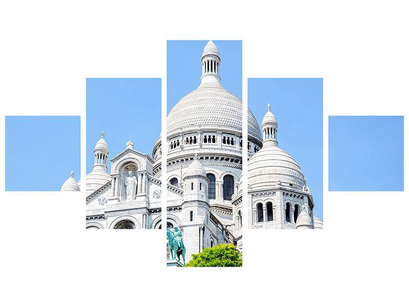 Leinwandbild 5-teilig Paris- Montmartre