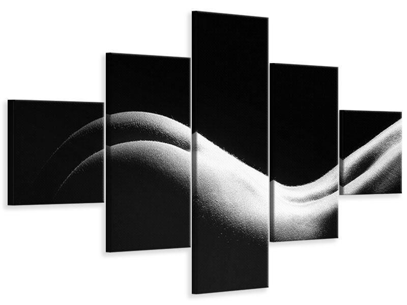 Leinwandbild 5-teilig Nude