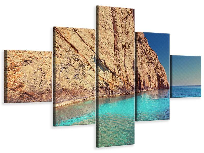 Leinwandbild 5-teilig Wasser