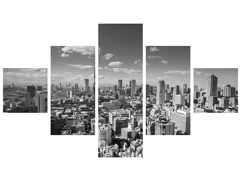 Leinwandbild 5-teilig Tokio