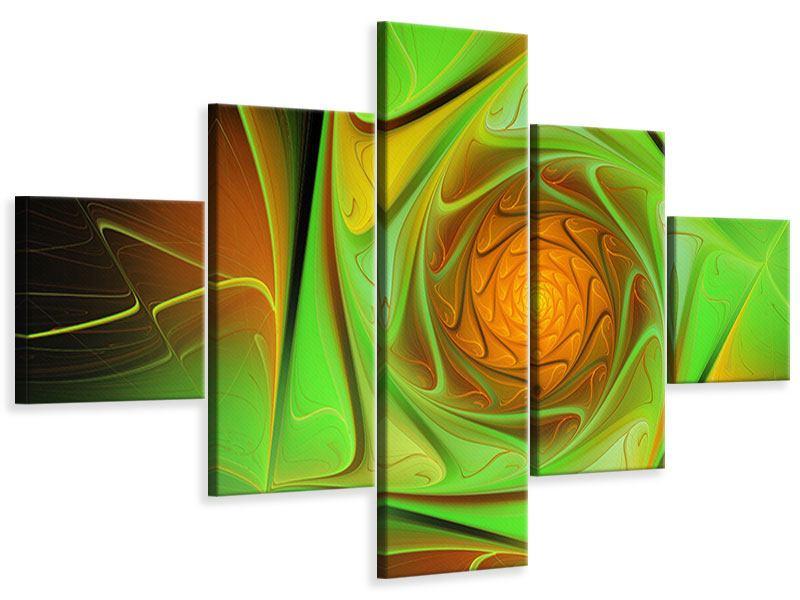 Leinwandbild 5-teilig Abstraktionen
