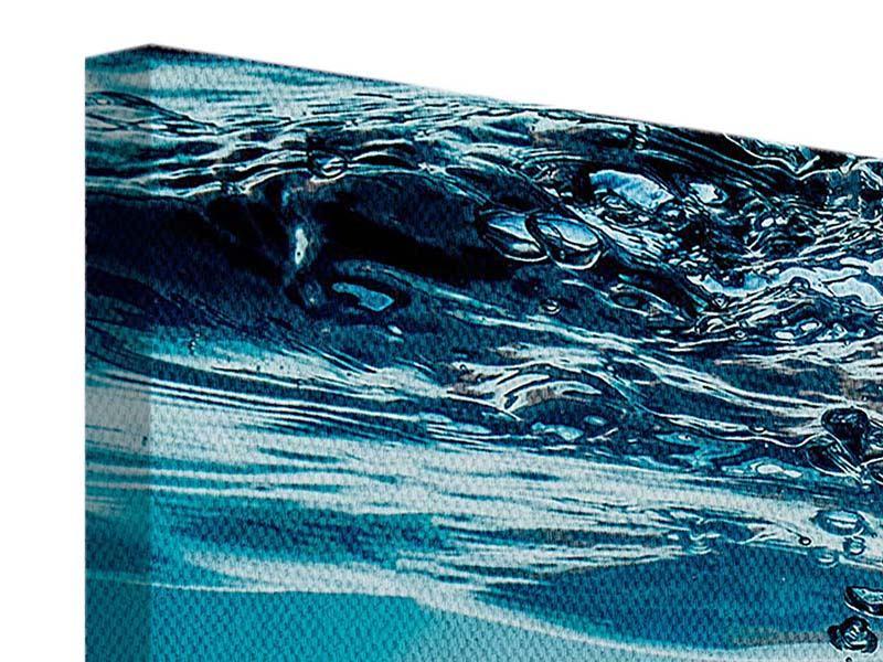 Leinwandbild 5-teilig Eiswürfel-Quadro