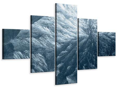 Leinwandbild 5-teilig Eis