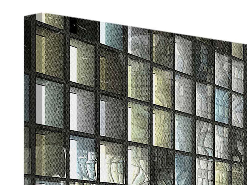 Leinwandbild 5-teilig Windows