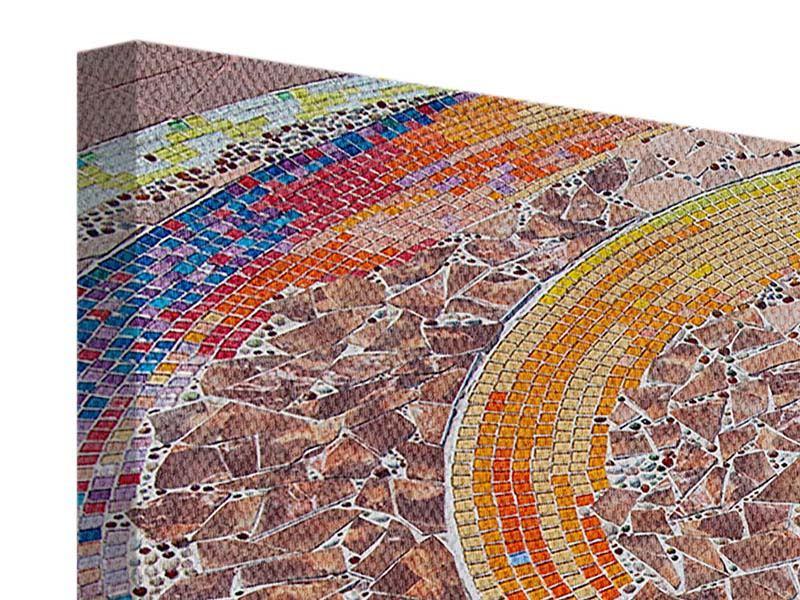 Leinwandbild 5-teilig Mosaik