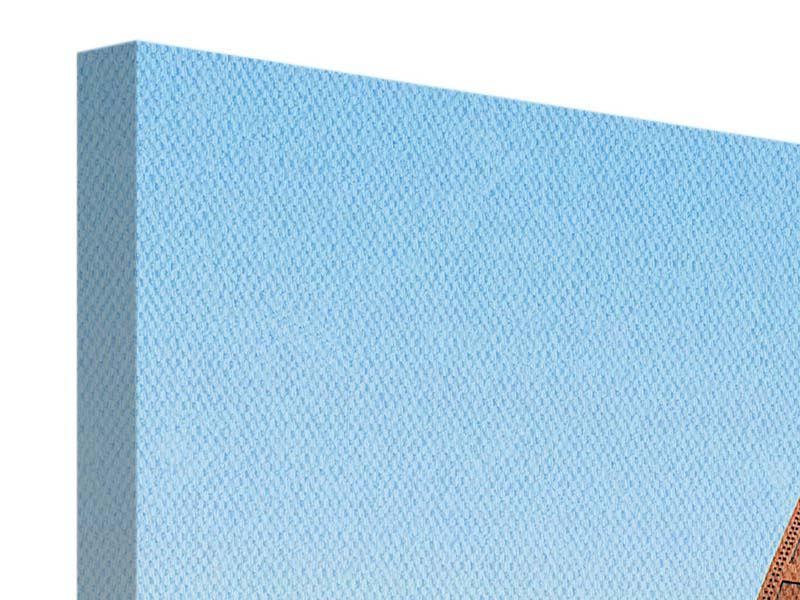 Leinwandbild 5-teilig Brückenpanorama