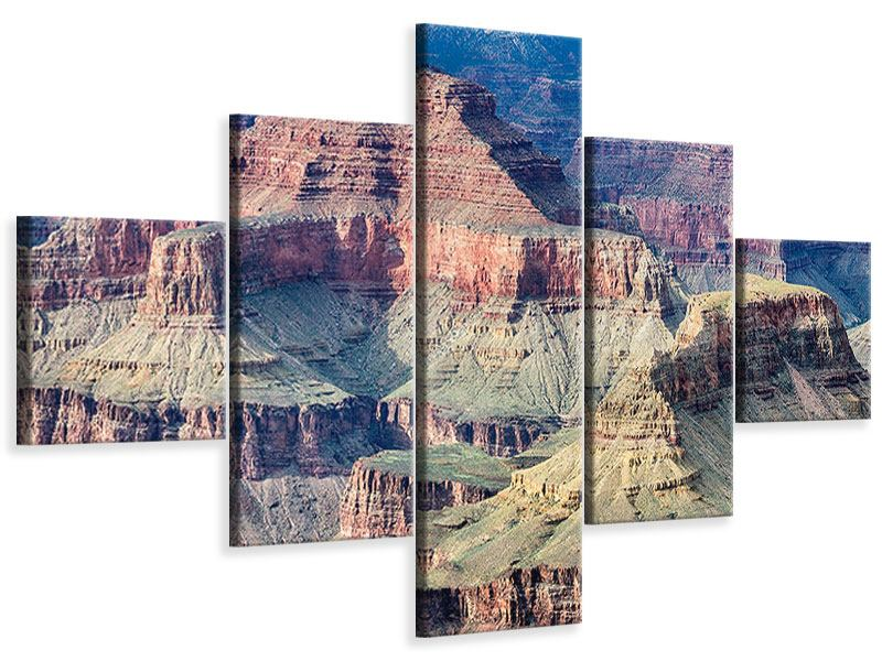 Leinwandbild 5-teilig Gran Canyon