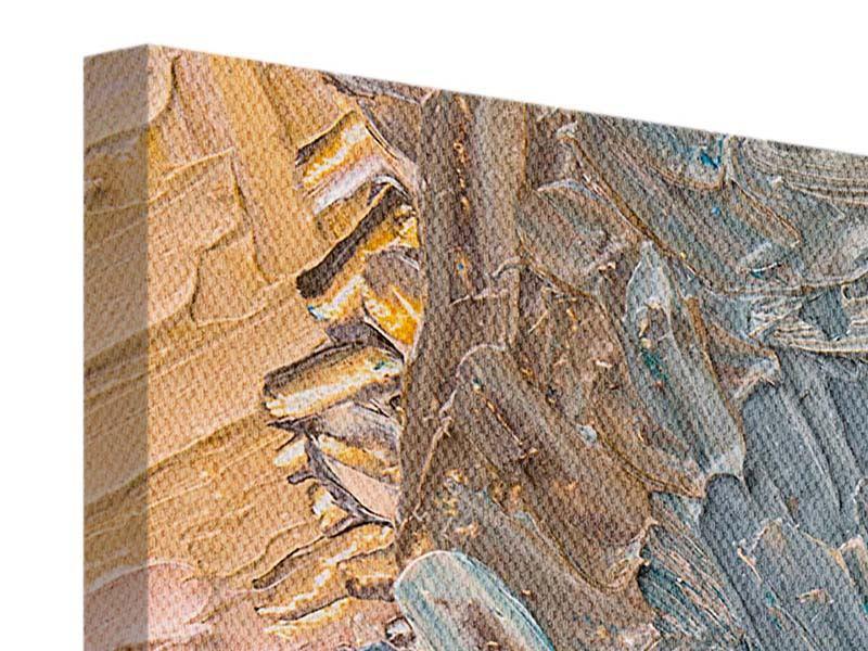 Leinwandbild 5-teilig modern Ölgemälde