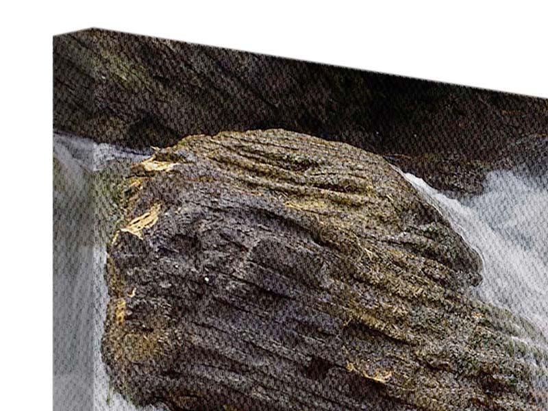 Leinwandbild 5-teilig modern Wasserfall XXL