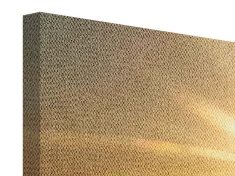 Leinwandbild 5-teilig modern Über dem Wolkenmeer