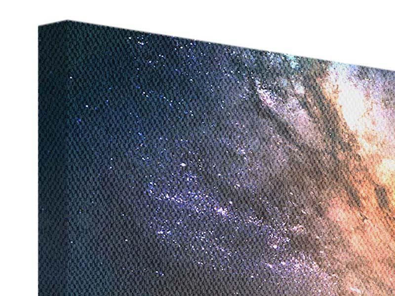 Leinwandbild 5-teilig modern Universus