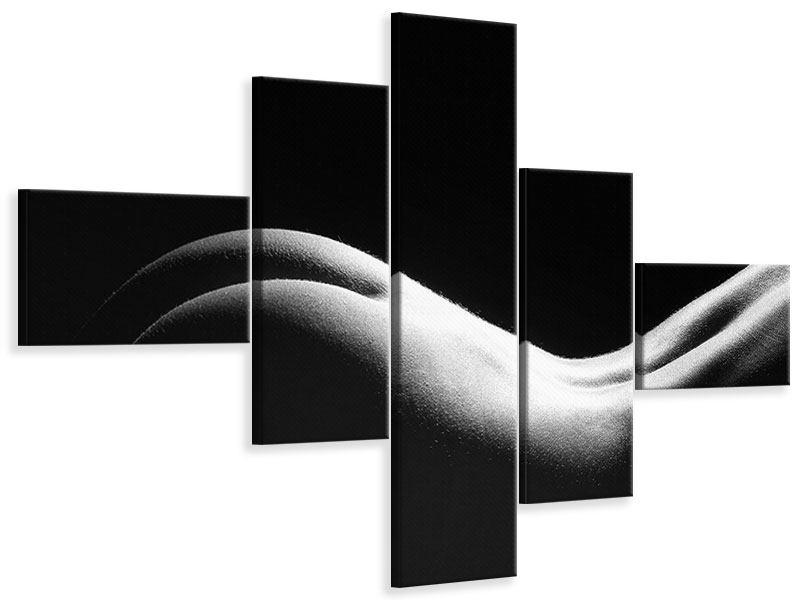 Leinwandbild 5-teilig modern Nude
