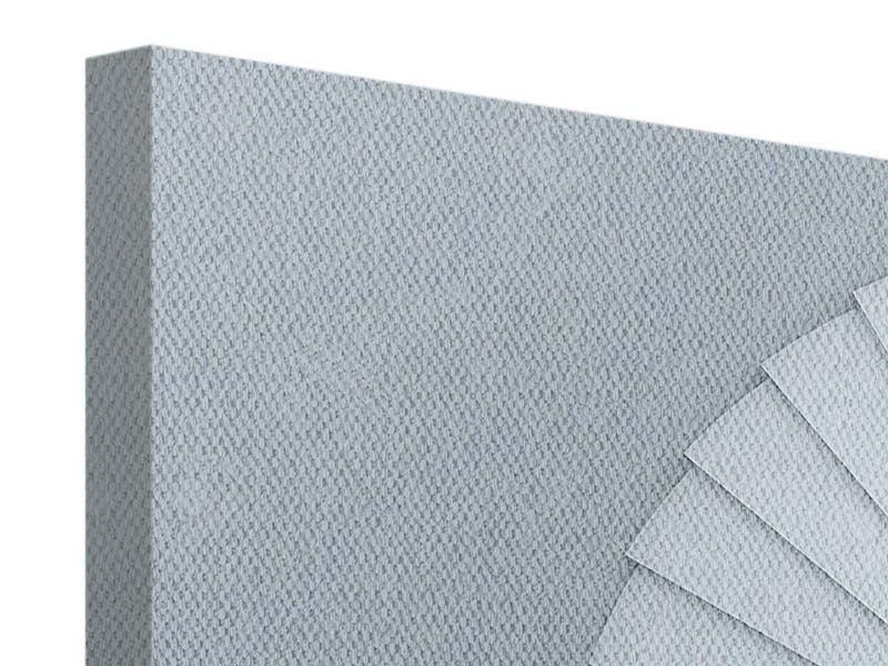 Leinwandbild 5-teilig modern 3D Wendeltreppe