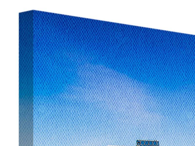 Leinwandbild 5-teilig modern Skyline Oslo