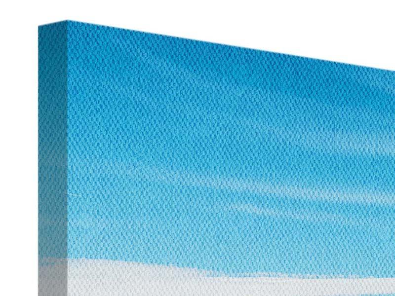 Leinwandbild 5-teilig modern Alpenpanorama