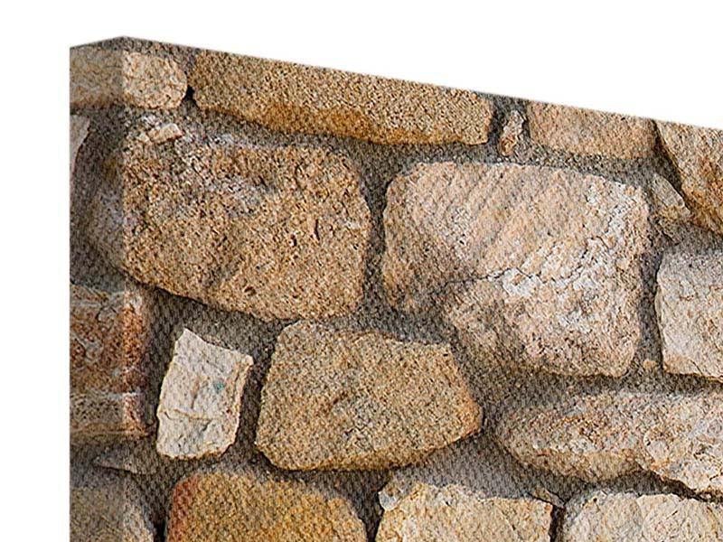 Leinwandbild 5-teilig modern Alte Ziegel