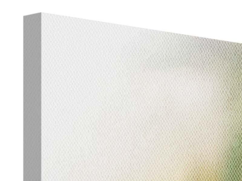 Leinwandbild 5-teilig modern Tulpenperspektive