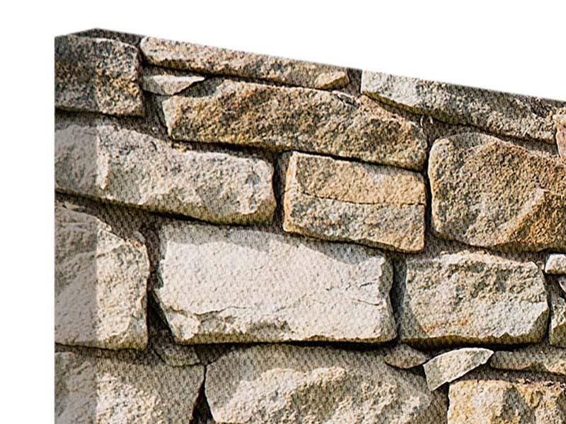 Leinwandbild 5-teilig modern Natursteine