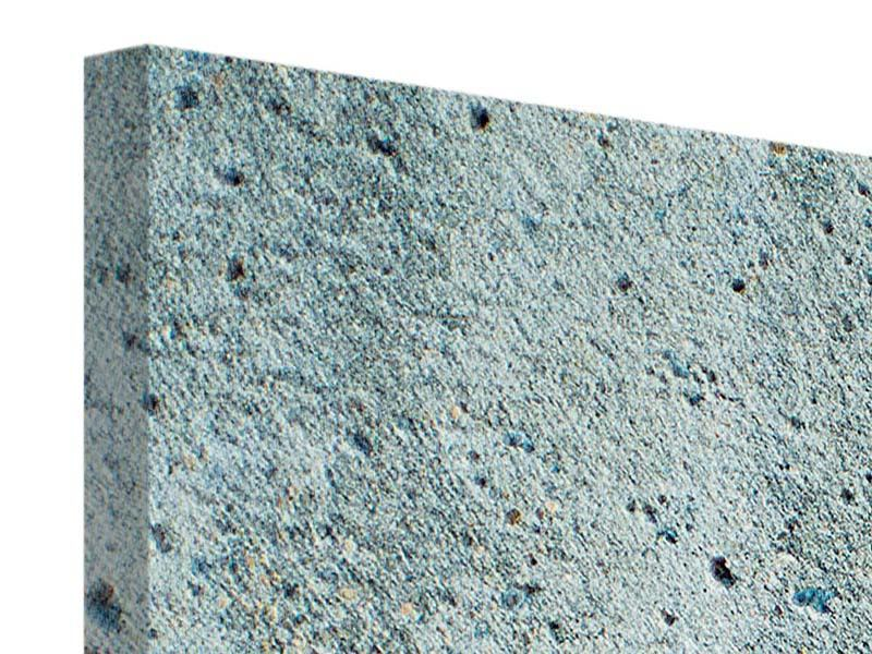 Leinwandbild 5-teilig modern Beton in Grau
