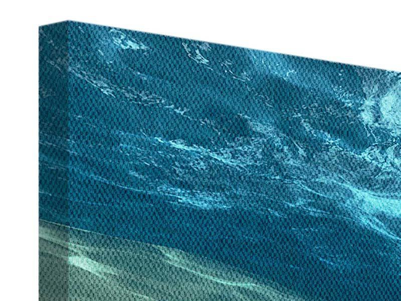 Leinwandbild 5-teilig modern Unter dem Wasser