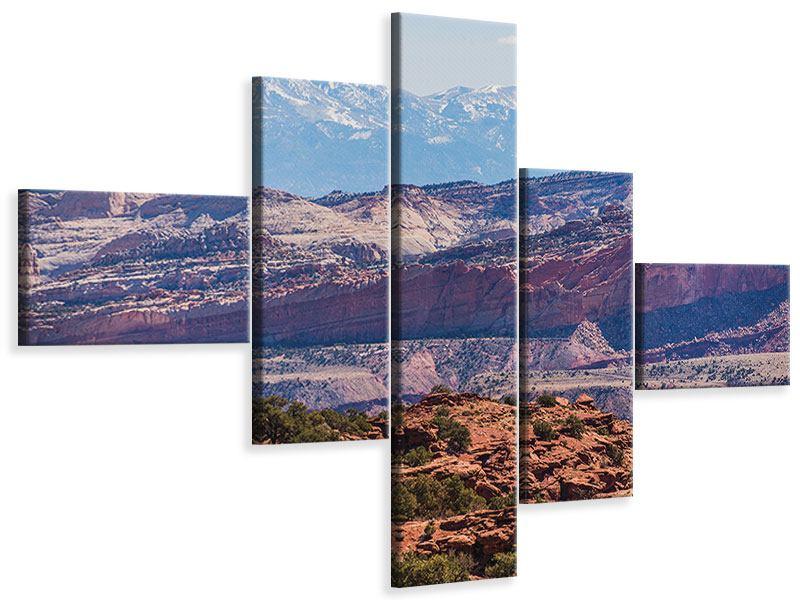 Leinwandbild 5-teilig modern Bruce-Canyon-Nationalpark