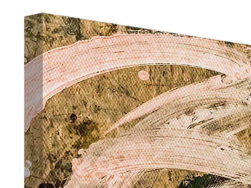 Leinwandbild 5-teilig modern Writing On The Wall