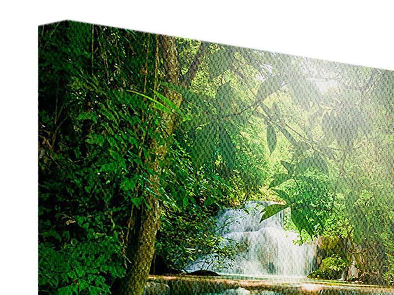 Leinwandbild 9-teilig Wasserfall Thailand