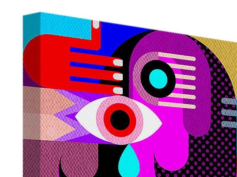 Leinwandbild 9-teilig Moderne Kunst People