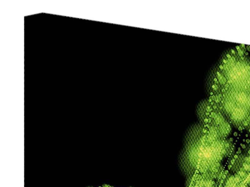 Leinwandbild 9-teilig Grünes Lichterspiel