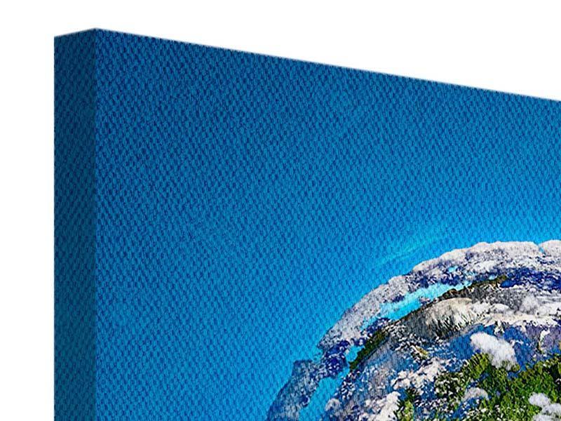 Leinwandbild 9-teilig Planet Earth