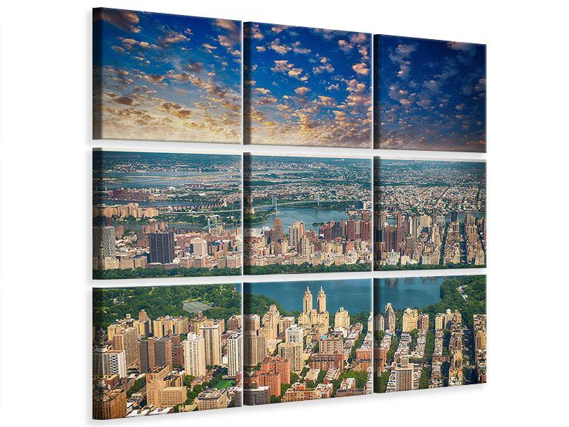 Leinwandbild 9-teilig New York
