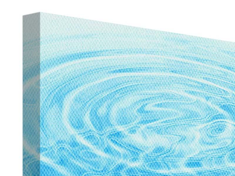 Leinwandbild 9-teilig Abstraktes Wasserbad