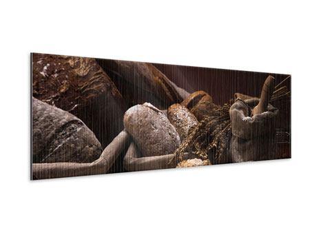 Metallic-Bild Panorama Brotbäckerei