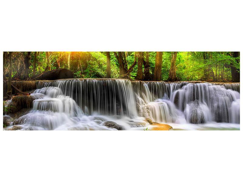 Metallic-Bild Panorama Nationalpark Si Nakharin
