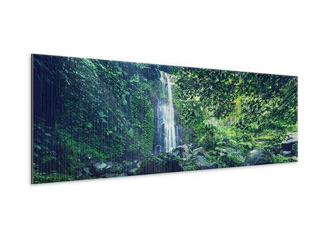 Metallic-Bild Panorama Natur