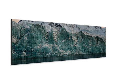Metallic-Bild Panorama Die Antarktis